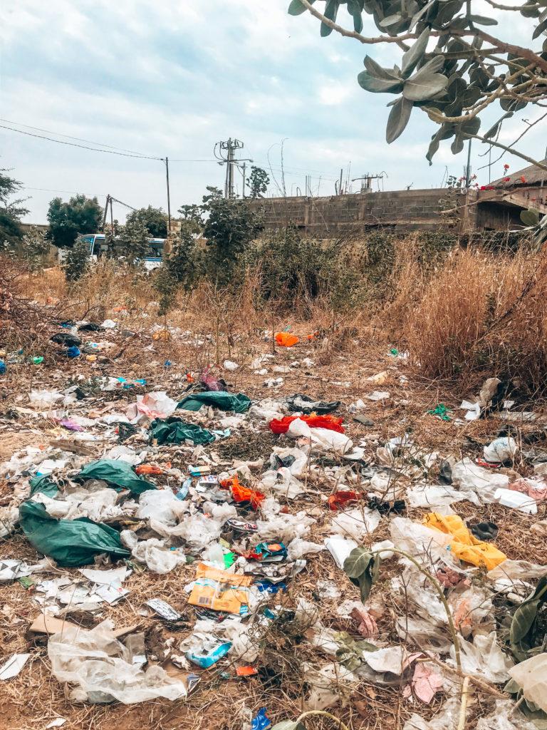 pollution sénégal plastique