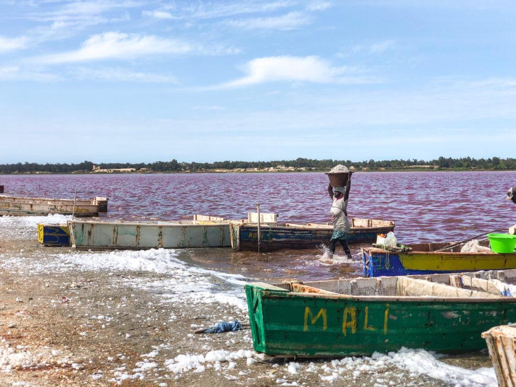 lac rose visiter le Sénégal